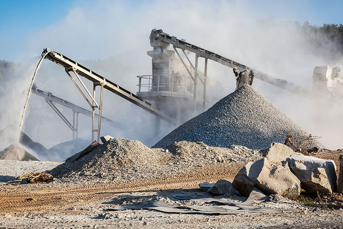 Carcinogenic dust created by gravel quarry similar to the planned Vulcan Materials quarry in Comal County