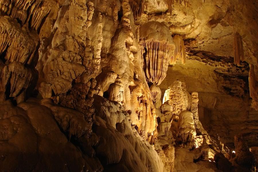Natural Bridge Caverns in Comal County near Garden Ridge, Texas