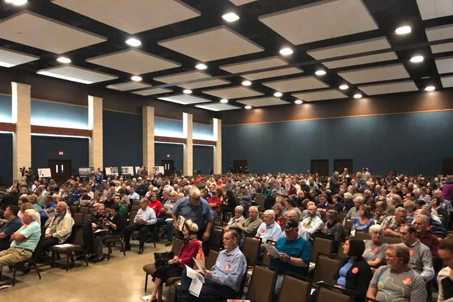 Over 500 Comal County Citizens Show Up Against Vulcan Quarry at TCEQ Public Meeting in New Braunfels