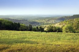 View of Hill Country in Comal County, Texas