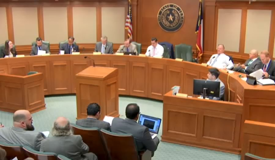 Texas House Environmental Regulation Committee