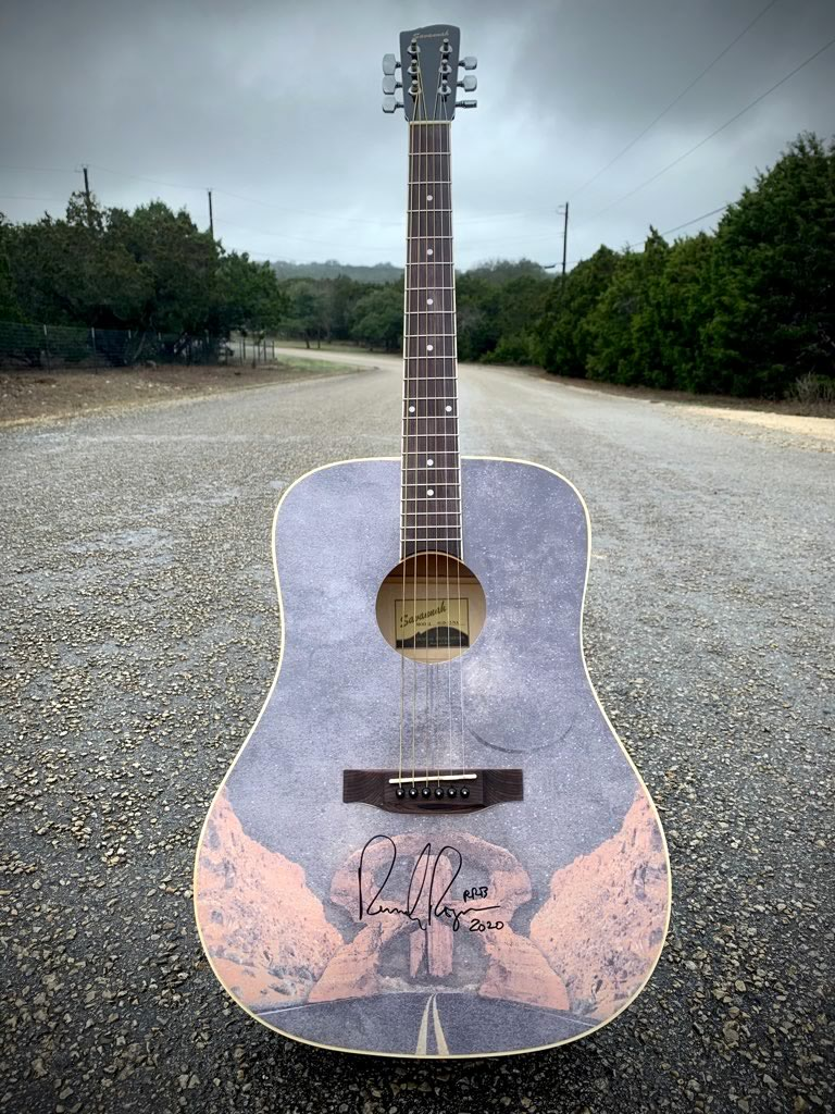 Randy Rogers Band Hill Country fan package (autographed guitar and VIP tickets)