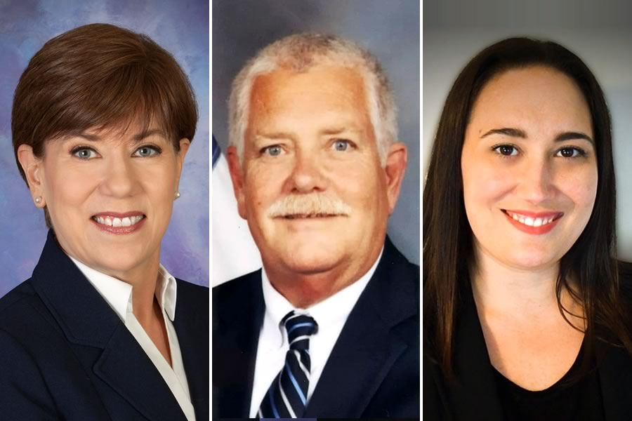 2020 Primary candidates for Comal County Commissioner, Precinct 1: Donna Eccleston, Richard K. Smith, Lindsay Poisel