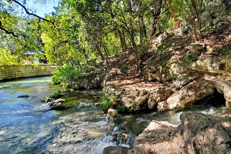 Comal Springs, Landa Park, New Braunfels, Texas