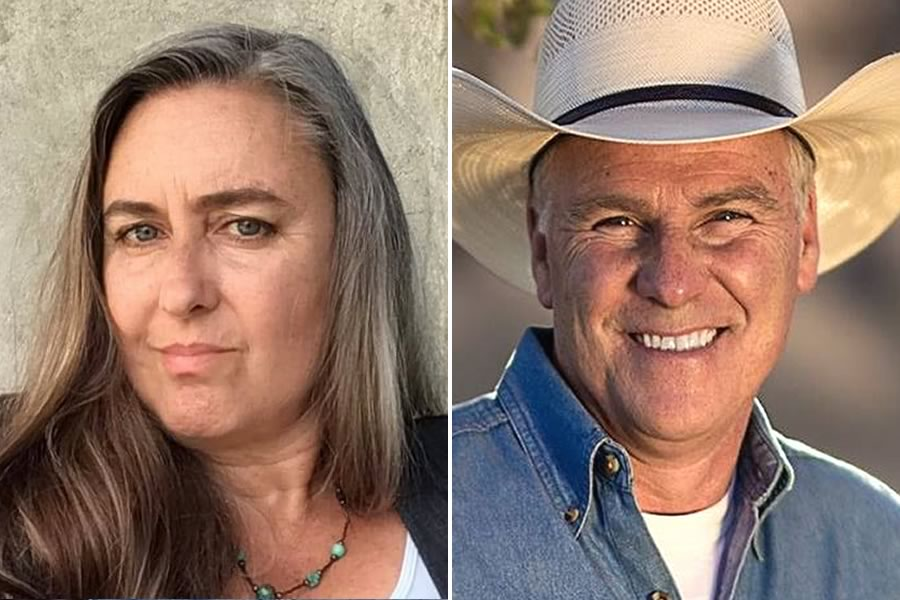 2020 General Election candidates for Texas State Representative, District 73: Stephanie Phillips and Kyle Biedermann